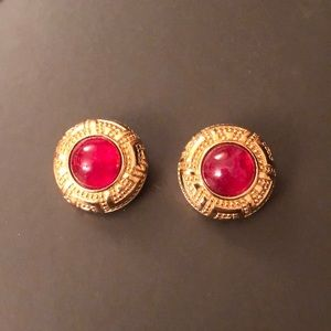 Christian Dior Authentic Large Vintage Earrings
